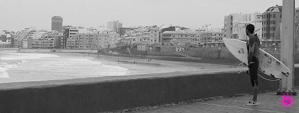 Photo: Divisaba las olas