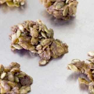 Spicy-Sweet Mole Pumpkin Seed Clusters