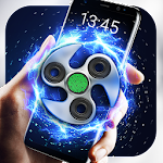 Fidget Spinner Fingerprint lock Screen Icon