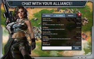 Screenshot of War of Nations: PvP Domination