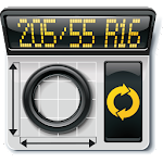 Wheel Tire Calculator Icon