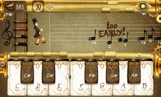 Note Fighter Screenshot