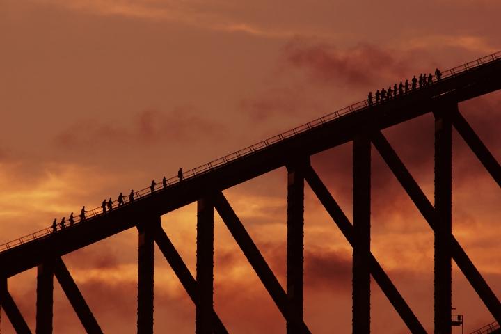 Scalando il ponte verso il cielo di onelorca