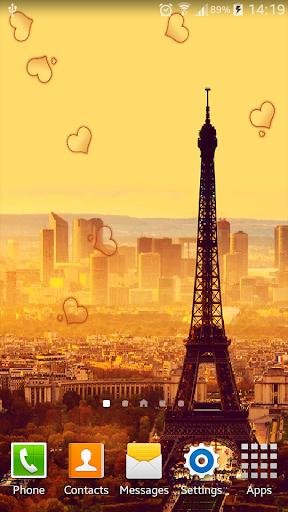 Paris HDLive Wallpaper