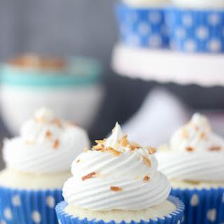 Skinny Coconut Cream Pie Cupcakes.