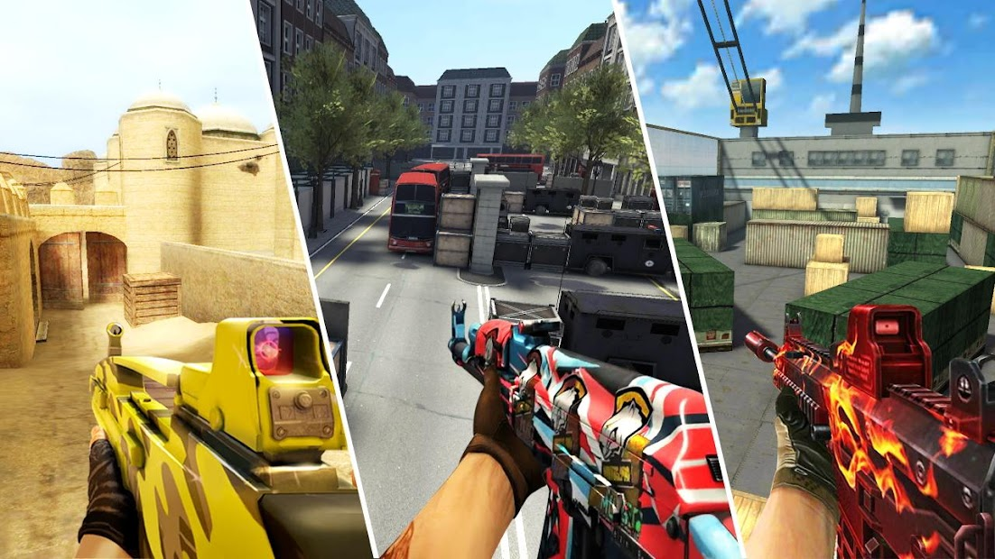 Cover Strike - 3D Team Shooter Android App Screenshot