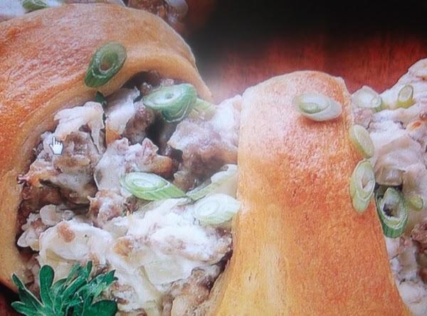 `bavarian Kraut And Sausage Roll Recipe