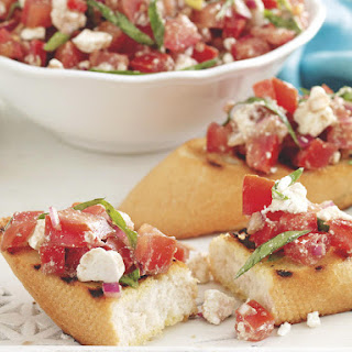 Tomato and Feta Bruschetta