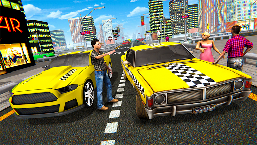 Extreme Taxi Crazy Driver Simulator - Taxi Game 1.0 screenshots 2