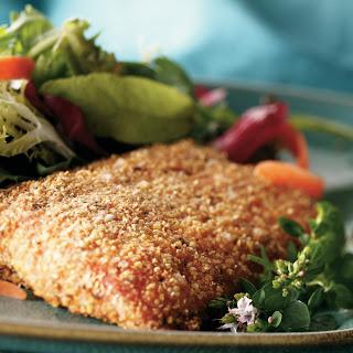 Spicy Cornmeal-Crusted Alaska Salmon