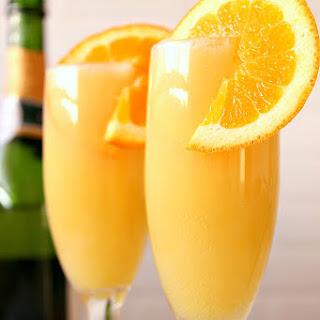 Orange Creamsicle Mimosa.