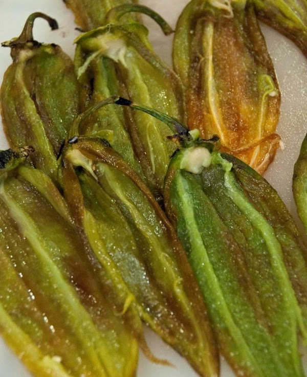 The chiles will be limp and require no special paring tools, especially if you've...