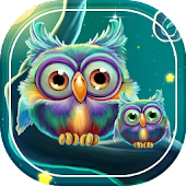 Cute Owls Live Wallpaper