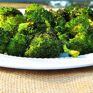 Chipotle Butter Roasted Broccoli Recipe
