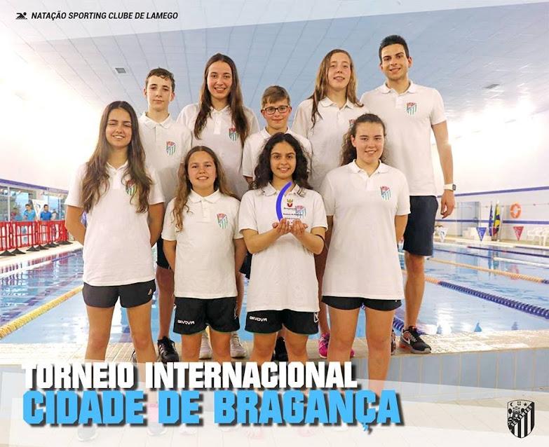 Jovens nadadores do Sporting Clube de Lamego exibem excelente performance