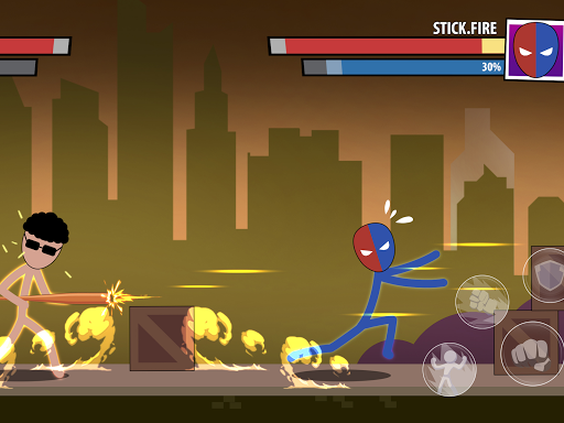 Mask of Stick: Superhero 1.0.4 screenshots 9