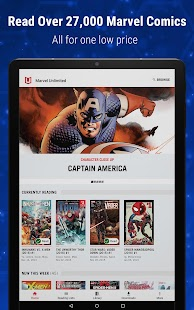 Marvel Unlimited Screenshot