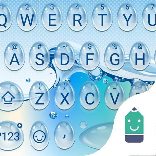 Pure Water Drop Emoji Keyboard