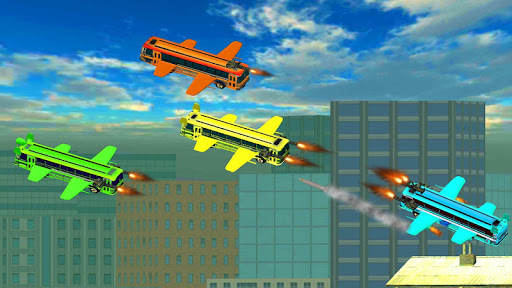 Flying Bus Gunship Super Shooting Battle for PC