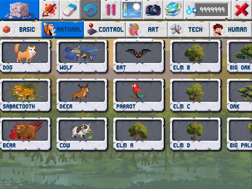 The Sandbox Evolution - Craft a 2D Pixel Universe!  screenshots 8