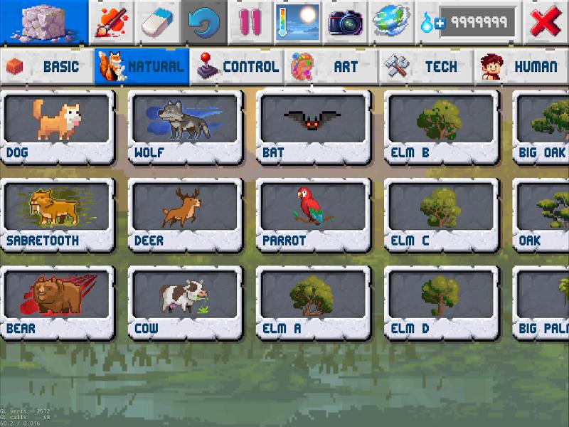 The Sandbox Evolution - Craft a 2D Pixel Universe! Screenshot 7