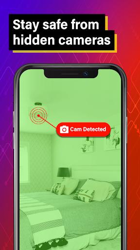 Hidden Camera Detector: Electronic Device Detector screenshots 2