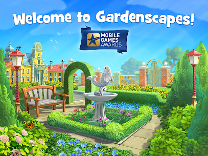 Gardenscapes MOD (Unlimited Coins) 9
