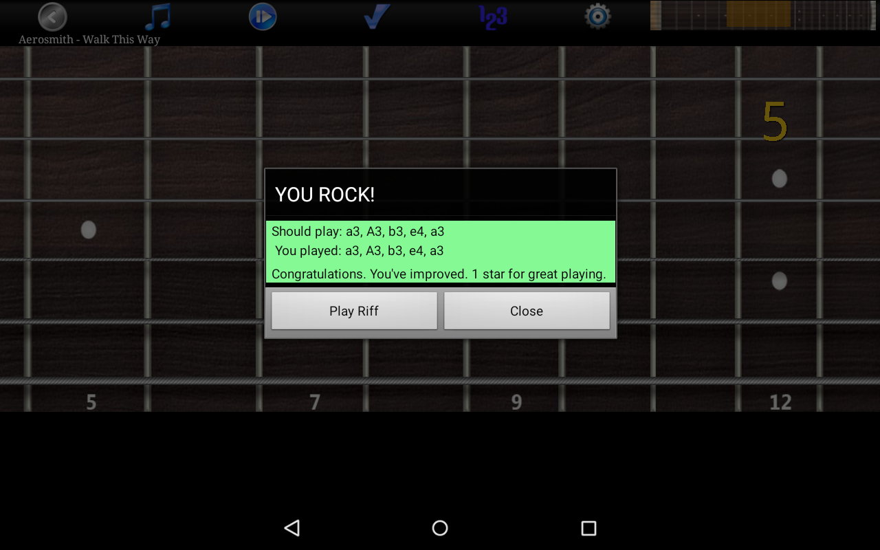 Guitar Riff Free- screenshot