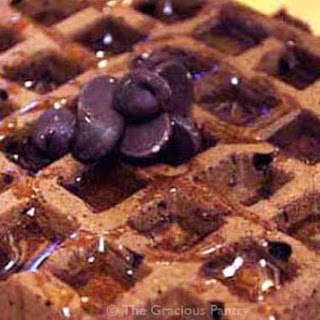 Clean Eating Brownie Waffles