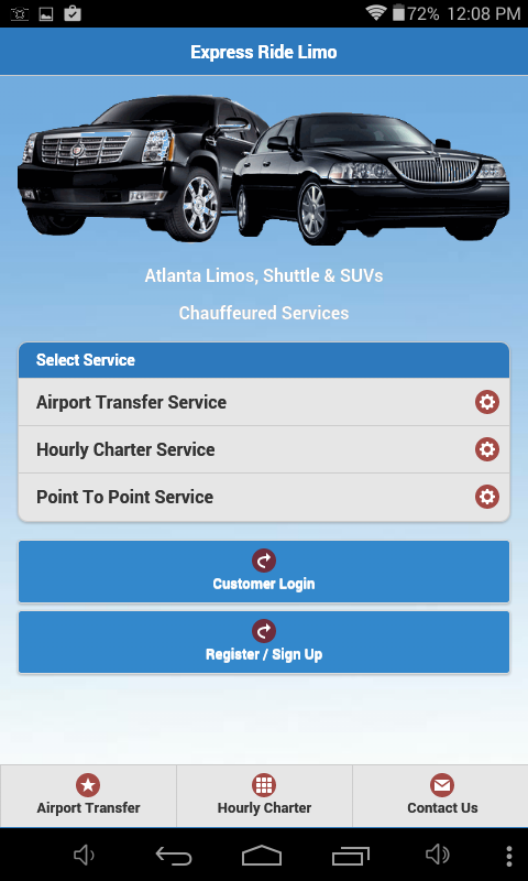 Express Ride Limo- screenshot