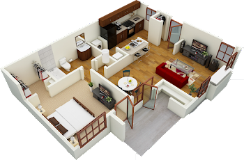 Go to Cottage Floorplan page.
