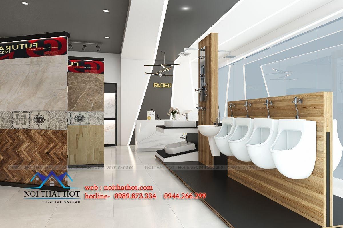 thiết kế cửa hàng vật liệu xây dựng chuyên nghiệp