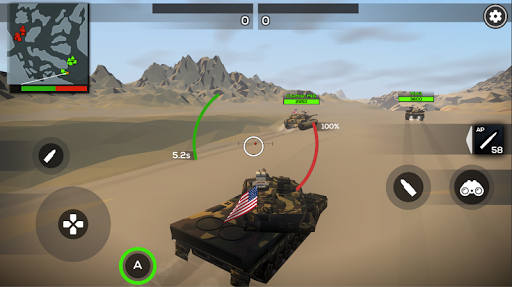 Poly Tank 2: Battle Sandbox apkmind screenshots 4