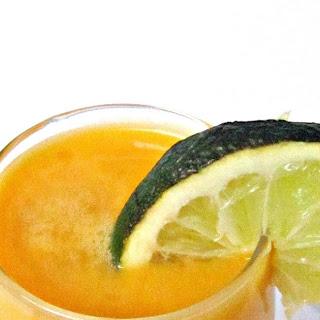 Mango Colada (Mango Drink With Coconut Milk).