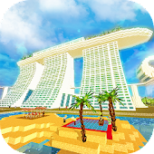 Singapore Craft: Asian Crafting & Building Game