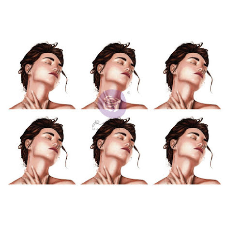 Prima Sharon Ziv Decoupage Tissue Paper 19X27 - Sensationnelle