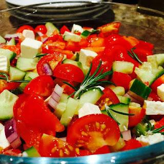 Feta Cheese Salad.