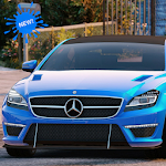 CLS 3D Driving Mercedes Simulator Icon
