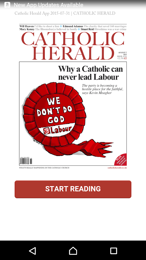 Catholic Herald Magazine- screenshot