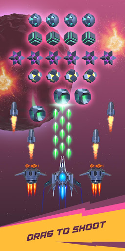 Dust Settle 3D-Infinity Space Shooting Arcade Game apkpoly screenshots 6