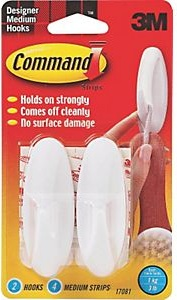 Command Adhesive Design Hook