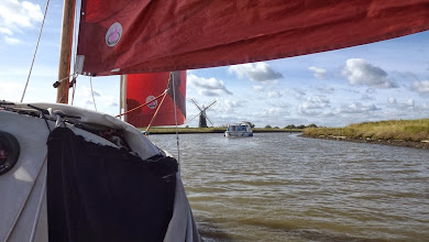Photo: Fine sail from Yarmouth to Stokesby