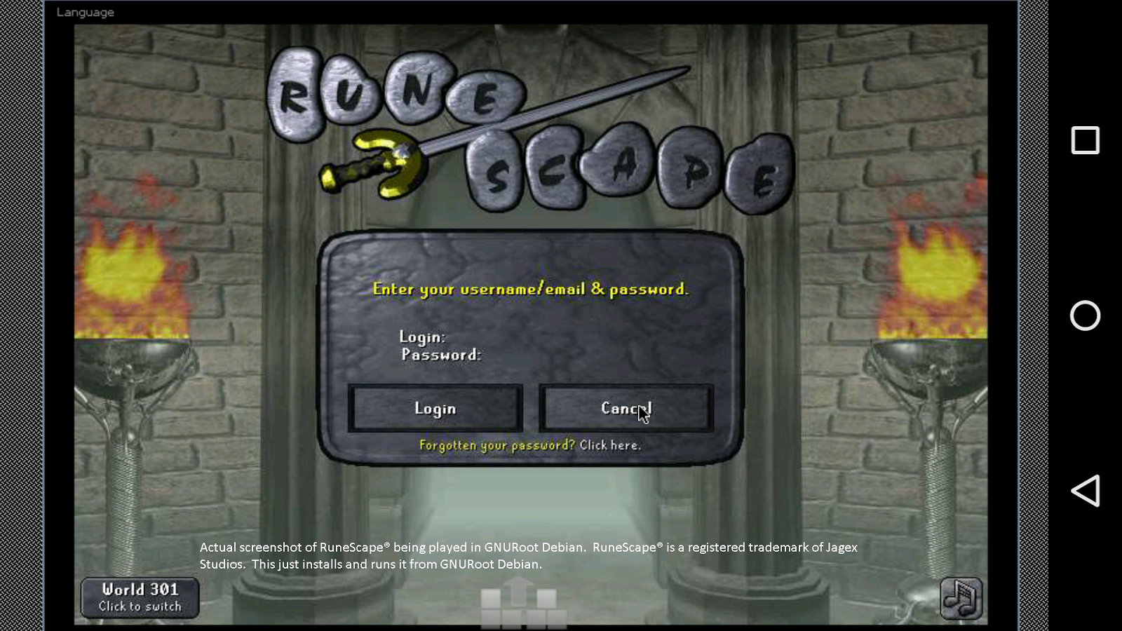 how to use runescape on iphone