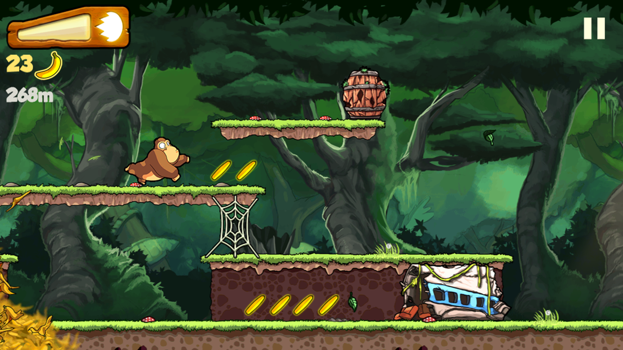 Banana Kong- screenshot