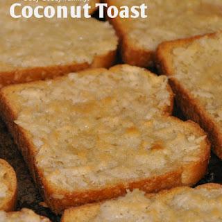Coconut Toast.