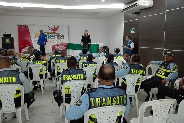 52 agentes de tránsito fueron capacitados y certificados en atención de accidentes