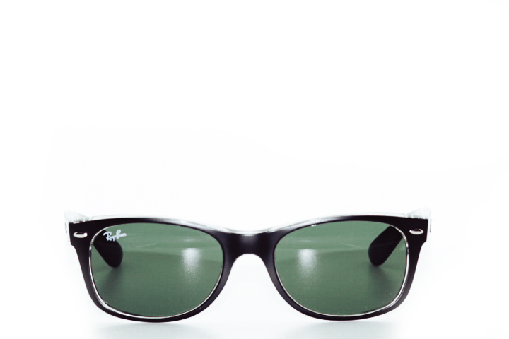 Ray Ban New Wayfarer Black Transparant