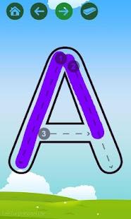 Belajar Menulis Huruf / Angka- screenshot thumbnail