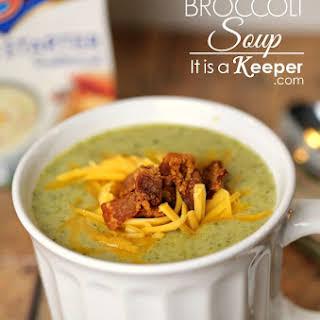 30 Minute Cream of Broccoli Soup.