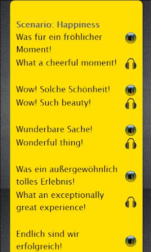 Learn English using German